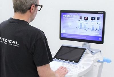 GE Voluson E10 and ultrasound technician