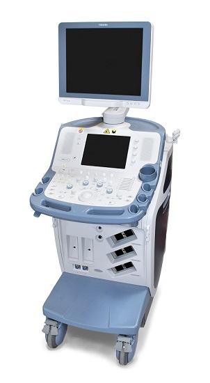 Toshiba Xario SSA 660A ultrasound machine